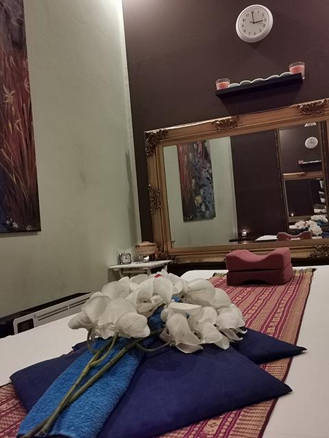 Thaimassage-Raum